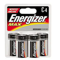 Energizer MAX C Battery - 4 Pk.