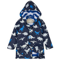 Hatley Toddler Boy's Dino Herd Color Changing Rain Jacket