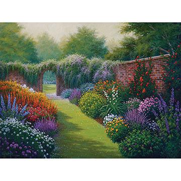 White Mountain Jigsaw Puzzle - Secret Garden