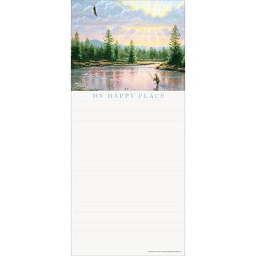 Pumpernickel Press Complete Serenity Magnetic List Notepad