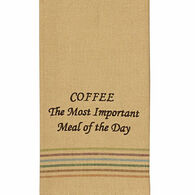 Park Designs Coffee Most Important Meal Dish Towel