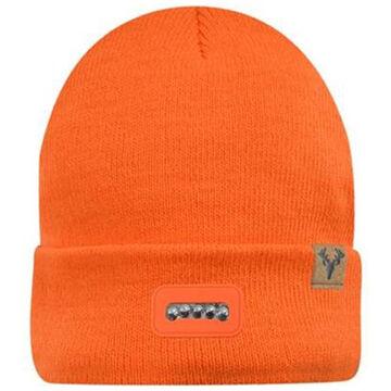 Jacob Ash Hot Shot Men's Bolt Lighted Fleece Hat