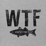 Life is Good Men's Where's The Fish? Crusher Short-Sleeve T-Shirt