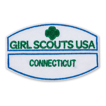 Girl Scouts Official GSA Identification Iron-On Patch