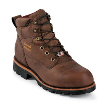 "Chippewa Men's 6"" Waterproof Work Boot, 400g"