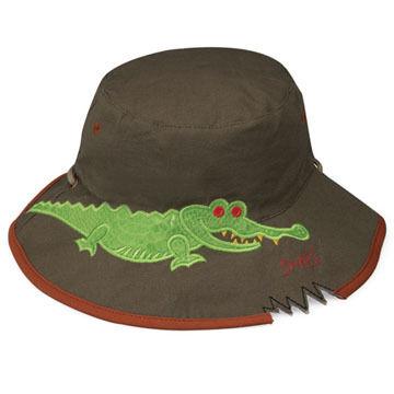 Wallaroo Toddlers' Crocodile Hat