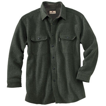 Woolrich Mens Wool Alaskan Long-Sleeve Shirt