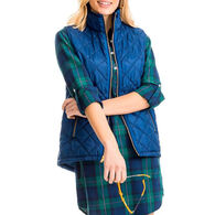 Southern Tide Women's Quilted Vest