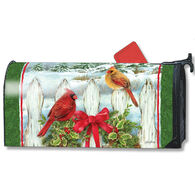 MailWraps Winter Splendor Magnetic Mailbox Cover
