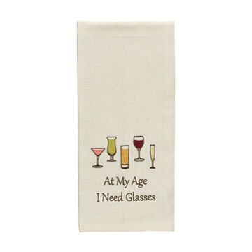 Park Designs At My Age I Need Glasses Decorative Dish Towel