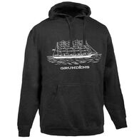 Grundens Men's Ship Logo Hooded Sweatshirt