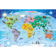 Outset Media Tray Puzzle - World Map