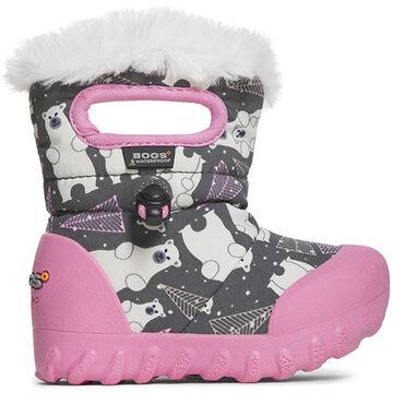 Bogs Boys' & Girls' B-Moc Bears Insulated Winter Boot