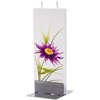 Flatyz Candle - Purple Flower