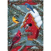 Carson Home Accents Seasonal Songbirds Garden Flag