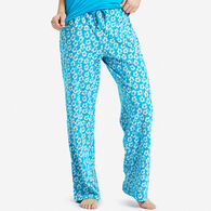Life is Good Women's Flowers Jersey Sleep Pant