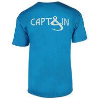 Hook & Tackle Men's Captain Hook Fishing Short-Sleeve T-Shirt