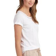 Hatley Women's Cotton Linen Short-Sleeve T-Shirt