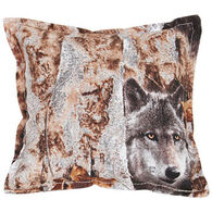 "Paine Products 5"" x 5"" Wolf Balsam Pillow"