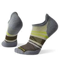SmartWool Men's PhD Run Light Elite Pattern Micro Sock