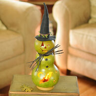 Meadowbrooke Gourds Fiona Small Tall Lit Witch