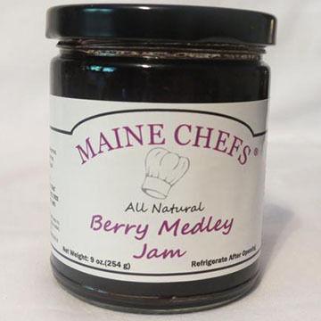 Maine Chefs Berry Medley Jam