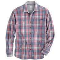 johnnie-O Men's Norman Flannel Long-Sleeve Shirt Jacket