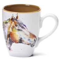 Big Sky Carvers Horse Head Mug