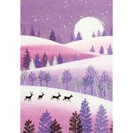 Peter Pauper Press Silent Snowfall Mini Boxed Holiday Cards