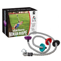Slackers Ninja 8' Climbing Rope w/ Foot Holds