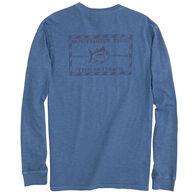 Southern Tide Men's Tonal Original Skipjack Garment Dyed Long-Sleeve Shirt