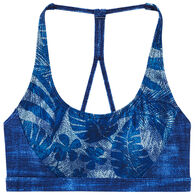 TYR Sport Women's Harlow Maui Print Performance Swim Top