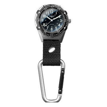 Dakota Aluminum Backpacker Clip Watch