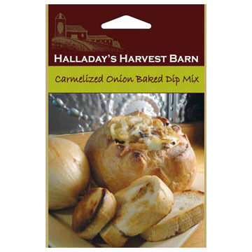 Halladay's Harvest Barn Carmelized Onion Baked Dip Mix