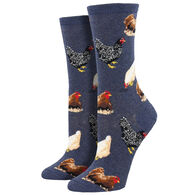 Socksmith Design Women's Hen House Crew Sock