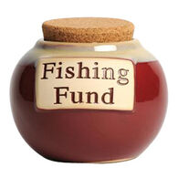 Tumbleweed Pottery Classic Word Jar - Fishing Fund