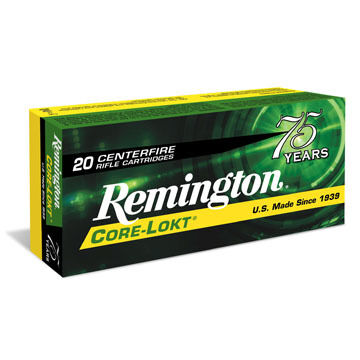 Remington Core-Lokt 260 Remington 140 Grain PSP Rifle Ammo (20)