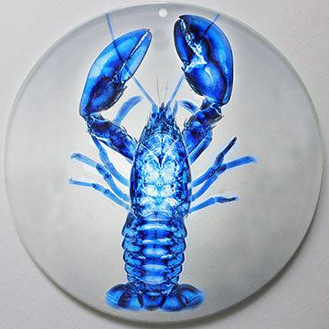 Radiant Art Blue Lobster Ornament