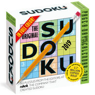 The Original Sudoku 2019 Page-A-Day Calendar by Editors at Nikoli