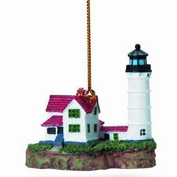 Cape Shore Nubble Lighthouse Ornament