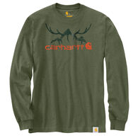 Carhartt Men's Original Fit Heavyweight Hunt Graphic Long-Sleeve T-Shirt