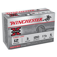 "Winchester Super-X Turkey Load 12 GA 3"" 1-7/8 oz. #5 Shotshell Ammo (10)"