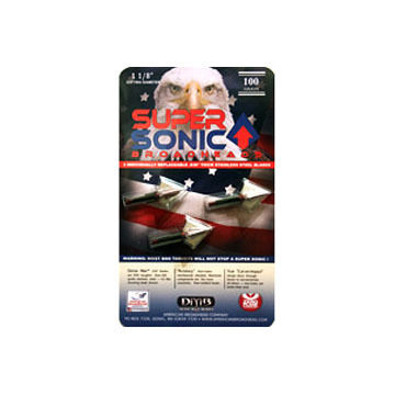 American Broadhead Super Sonic Broadhead - 3 Pk.