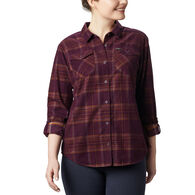 Columbia Women's Times Two Corduroy Long-Sleeve Shirt