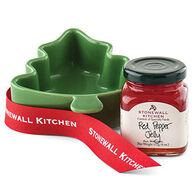 Stonewall Kitchen Red Pepper Jelly Tree Ramekin Gift Set