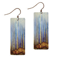Illustrated Lights DC Designs Rectangle Earring
