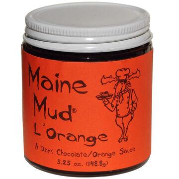 Maine Mud LOrange Dark Chocolate Sauce