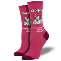 Socksmith Design Women's Retail Therapy Crew Sock