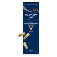 CCI Short HP 22 Short 27 Grain CPHP Ammo (100)