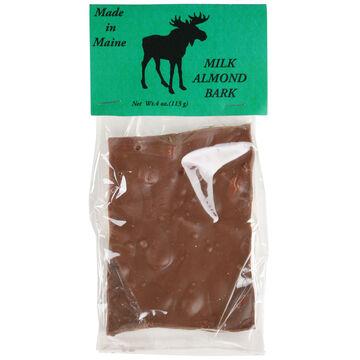 Wilburs of Maine Milk Chocolate Almond Bark
